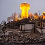 Fotók: hatalmas tűz pusztított egy ősi tibeti városban