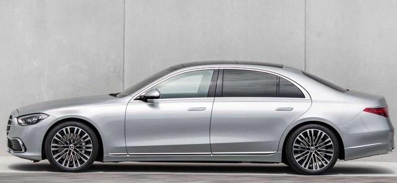 Első kémfotók a 700 lóerős Mercedes-AMG S63e-ről