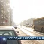 Egymás után robbannak le a fagyban a győri buszok