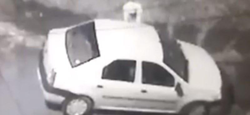 Dacia-bűnözés a csúcson: 50 autót törtek fel egy éjszaka – videó