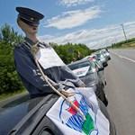 Horvát rendőrök is tiltakoznak a magyar kormány ellen
