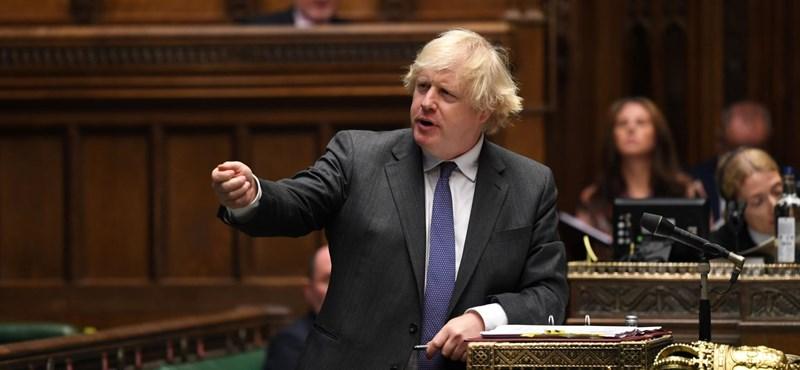 Johnson szerint csak biztosítási kötvény a Brexit-megállapodást átíró törvény