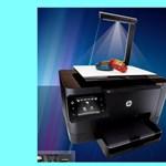 Ilyen is van: 3D szkenner, 2D nyomtató egyben [videóval]