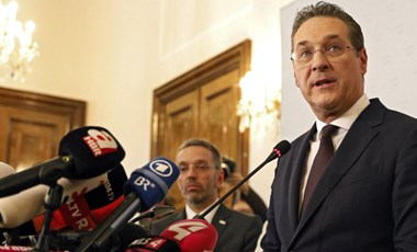 Hűtlen kezelés gyanúja miatt nyomozás indult Heinz-Christian Strache ellen