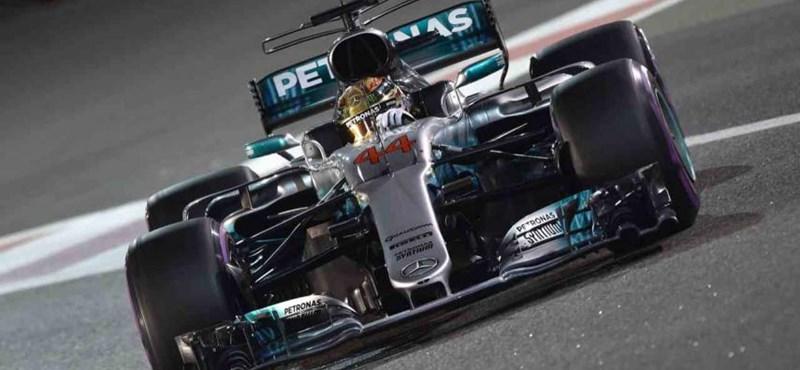 Na, ennek az új Forma–1-es Mercedesnek nincs mosógéphangja – videó