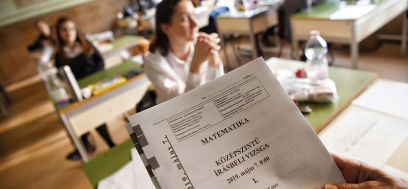 Ezt a feladatot hagyták ki a legtöbben a középszintű matekérettségin: így áll a szavazás