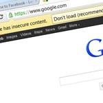 """Tipp: """"insecure"""" figyelmeztetés kikapcsolása Chrome-ban"""