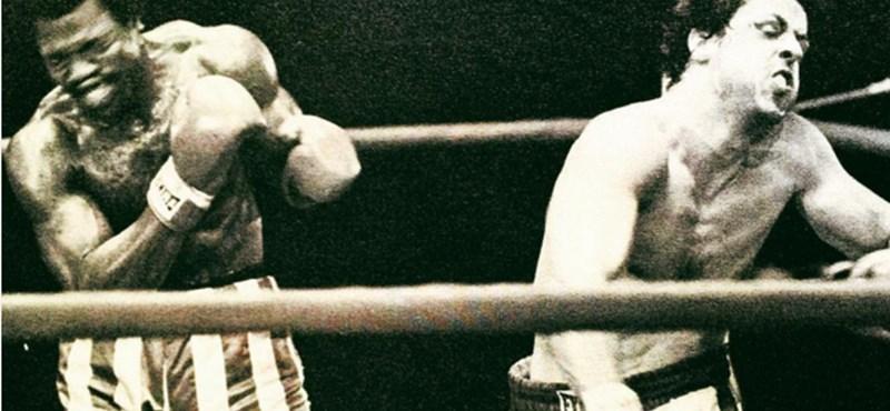 Ritka fotókkal nosztalgiázik Stallone a Rocky forgatásáról
