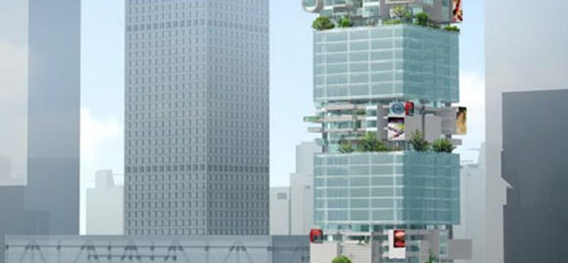 Luxus felhőkarcoló Kínában egy osztrák építésztől