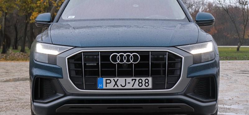 Tekintélyuralom: teszten az Audi Q8