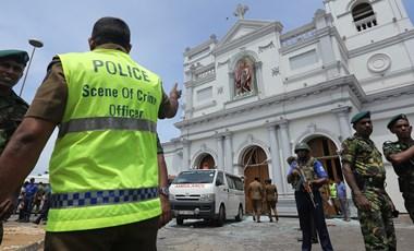 Srí Lanka – összehangolt húsvéti merényletsorozat - kétszáznál is több halott, 450 sebesült