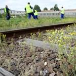 Vasúti pálya rongálóit érték tetten a rendőrök