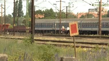 Eltévedt egy vonat Budapesten