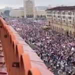 A rendszerváltáskor sem volt akkora tüntetés Fehéroroszországban, mint most