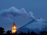 Ismét ébredezik a mexikói Popocatépetl vulkán – videó