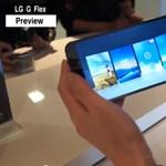 LG G Flex-videó: ezt még az LG G2 sem tudja