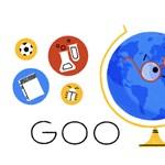 Pedagógusnap 2018: csak a magyarok kaptak ma egy különleges, mozgó logót a Google kereső főoldalán