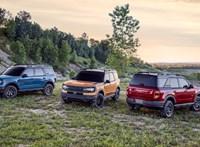 Itt a teljesen új Ford Bronco Sport