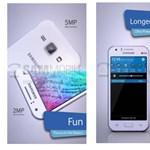 Hogy sokan megvehessék: 64 bites, alsó-középkategóriás Samsung-telefon érkezik