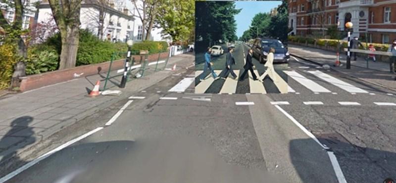 Fantasztikus látvány: klasszikus albumborítók a Street View-n