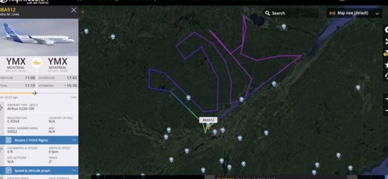"""Különleges feliratot """"karcolt"""" az égbe az Airbus, így ünnepelték a 12 000. gépüket"""