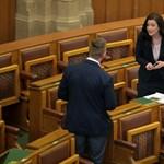 Demeter Mártát lehülyézték a parlamentben, majd elvették tőle a szót