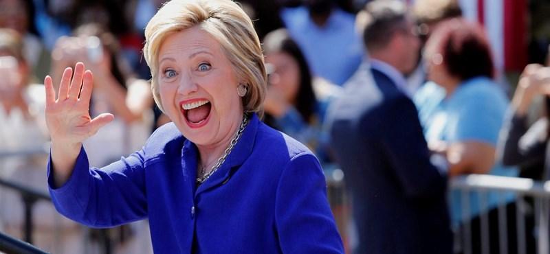 Videó: Hillary Clinton kis híján összeesett a szeptember 11-i megemlékezésen