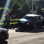 Bajba került a hírhedt magyar Rolls-Royce a III. kerületben – fotók
