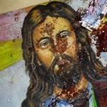 Jézus Krisztus képmását fedezték fel egy család gáztűzhelyén, azóta ahhoz imádkoznak