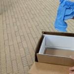 Teljes beismerés: videón a Samsung visszaküldésre szolgáló, hőálló dobozai