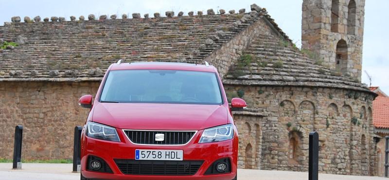 Seat Alhambra 4WD teszt: piknik a szabadban
