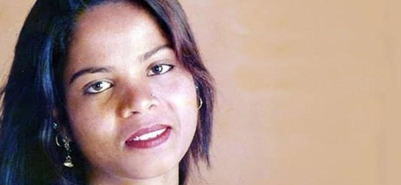 Elhagyja Pakisztánt a prófétakáromlásért halálra ítélt keresztény asszony