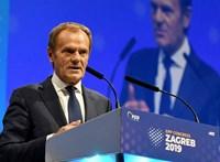 Megválasztották Donald Tuskot az Európai Néppárt elnökének