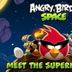 Tízmillió Angry Birds Space letöltés három nap alatt