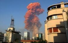 Óriási robbanás történt Bejrútban, több ezer sérült