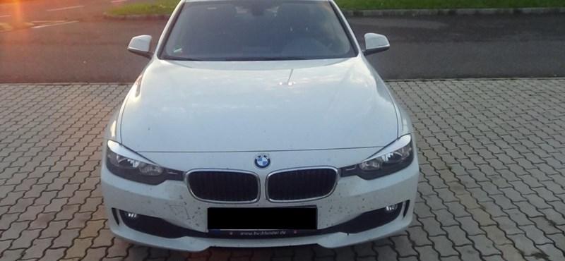 Fotó: Körözött BMW-t fogtak Nagylaknál