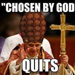Lecsapott Benedek pápára a netes mémgyár