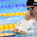 Gyurta napja lehet a szerda az olimpián