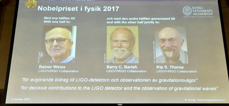 Az idei fizikai Nobel-díjban van magyar szál is