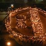 Tandíj ellen tüntettek az Eszterházy Károly Főiskola hallgatói