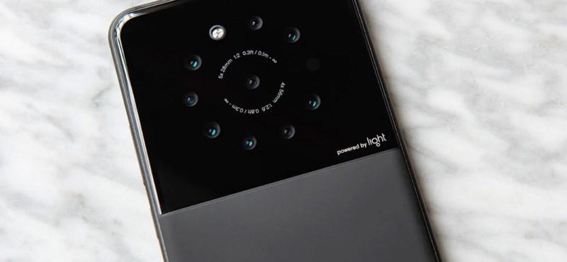 Van itt egy telefon, amelybe 9 kamerát pakoltak