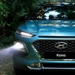 Szupertrendi új divatterepjáró: itt a Hyundai Kona