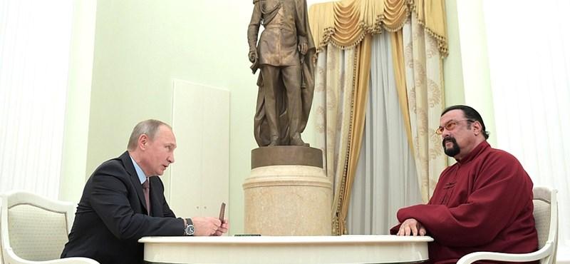 Steven Seagal mentené meg az amerikai-orosz viszonyt