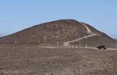 37 méteres Nazca-macskára bukkantak Peruban