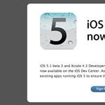 Újabb OS X 10.7.3 és iOS 5.1 béták az Apple-től