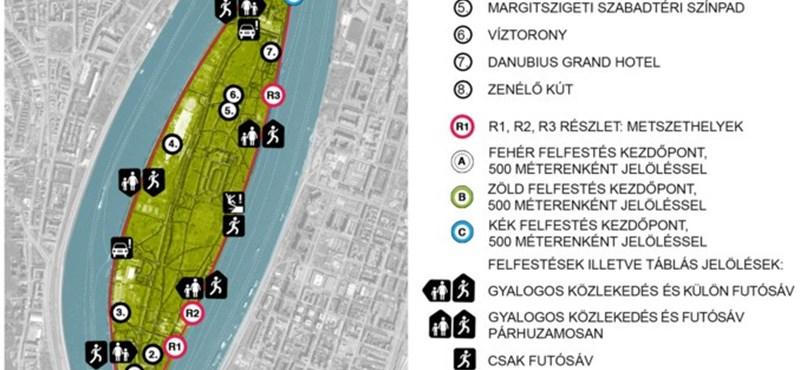 Már új futókörön sprintelhetünk ősszel a Margitszigeten - látványtervek