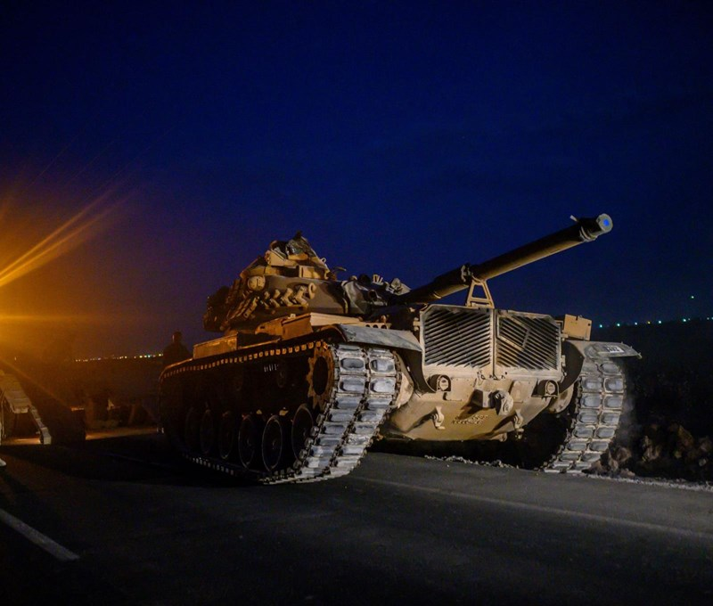 A török invázió után két tűz között a szíriai kurdok - Nagyítás-fotógaléria