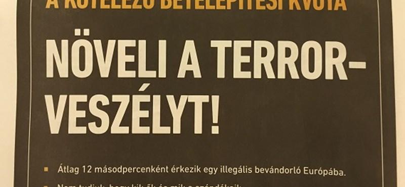 Egész oldalas újsághirdetésekkel riogat a kormány – fotó