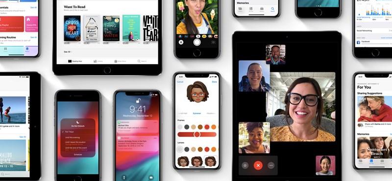 Ha iPhone-ja van, most frissítsen: már letölthető az új szoftver, benne új funkciókkal