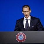 Az UEFA elnöke kizárással fenyegette meg a Barcelonát és a Real Madridot